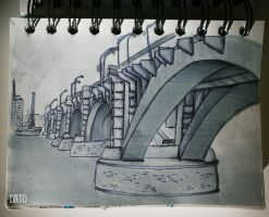 bridge sketch by Dkyo