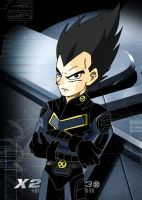 For CDB2: X-Men Vegeta by SnafuDave