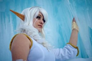 Snow Nymph Cosplay by St3phBot