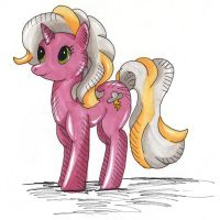 Art request #17 My Little Pony OC Sprinkles by Kitamon