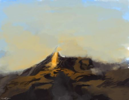 Lost Mountains by Zoundrev