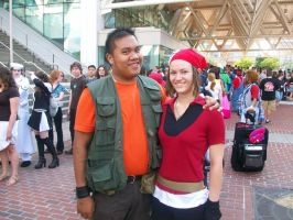 Otakon 09: Brock and May by RJTH
