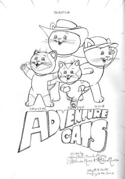 Adventure Cats! by Gorpo