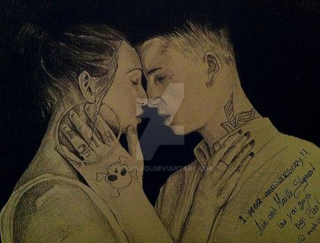 Ash Stymest and Maille by CleuUsagi