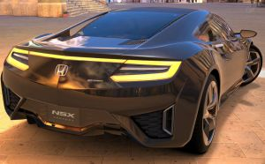Honda NSX concept car2 by NightmareRacer85