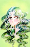 Michiru - sailor neptune by zelldinchit