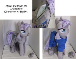 Commission: Maud Pie Plushie Purse by Chanditoys