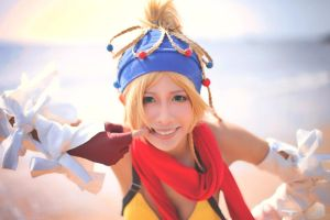 Rikku_Final Fantasy X-2 by AMPLE-COSPLAY