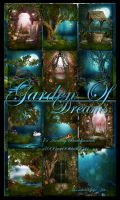 Garden Of Dreams backgrounds by moonchild-ljilja