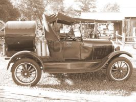 1926 Ford Tanker by LDLAWRENCE
