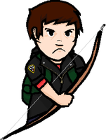 TLOU Lyndan with Bow by LynCloude