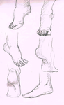 Foot Study 1 by BleakAce