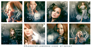 08 Jennifer Lawrence Icons by HayleyGuinevere