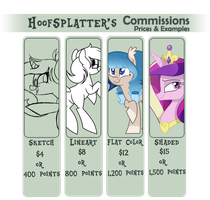 Commission Prices *CLOSED* by Halabaluu