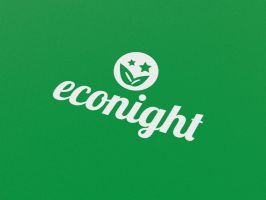 Free Logo Template - Eco Night by genotas
