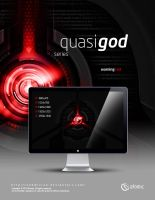 Quasi-God Warning Red by submicron