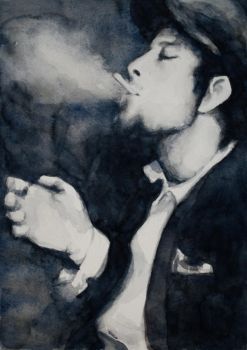 Tom Waits by Ziggster