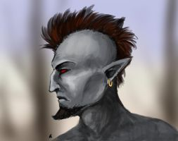 Morrowind character by R-r-ricko