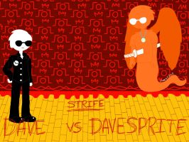 WHO WILL WIN? DAVE VS DAVESPRITE by Cheezit1x1