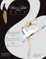 Swan Lake Gala by discodeathsquad
