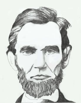 Abraham Lincoln by Beboobaboo