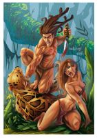 Tarzan vs Sabor by Yleniadn86