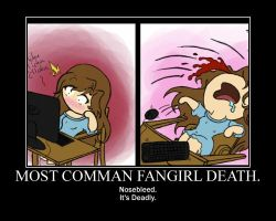 Most Comman Fangirl Death. by littleshadow3