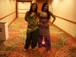 Animefest '12 - Belly Dancers by TexConChaser