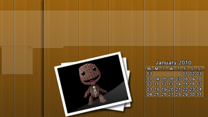 January 2010 psp Calender by GrimLink