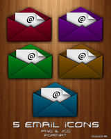 EMail Dock Icons by 0dd0ne
