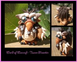Tauren Moonkin Hatchling by processofwinter