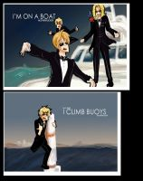 APH- I'M ON A BOAT by super-squirrel
