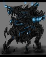 Sovereign Swarm Symbiont Walker Concept by SwarmCreator