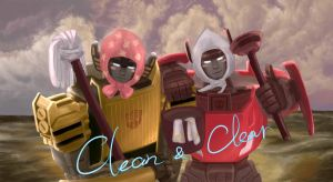 TF TWINS - We love to clean by Mexiletine