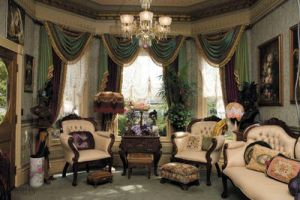 Queen Anne parlor by mcintoshapple