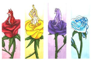 Blooming Vixens by hollyann