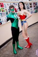 Green Lantern and Wonder Woman~ by OniksiyaSofinikum