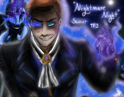 Nightmare Night|TF2|MLP:FiM|Crossover by JadenLover12