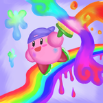 Painter Kirby by ShadedPenumbra