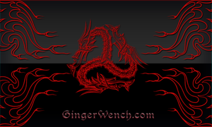 Dragon Flames WP by webwenchginger