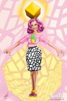 Katy Perry and the Yellow Cube by GudFit
