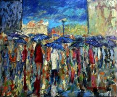 Bus Stop by zampedroni