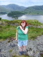 Me In The Lakes by Queenselphie