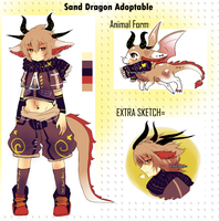 Sand Dragon adoptable : Offer to adopt by Ayuki-Shura-Nyan