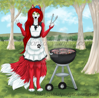Minka BBQ - Commission by Faeora