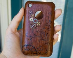 Steampunk iPhone Case by CrystalKittyCat