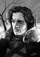 Jon Snow by artisticrender