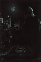 Batman v Superman: Dawn of Justice | Poster by Squiddytron