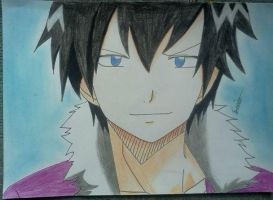 Grey Fullbuster by BeeeesArt