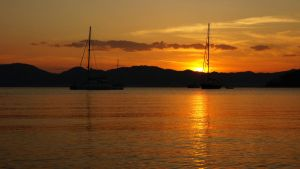 Sunset at Marmaris 5 by Navvyblue